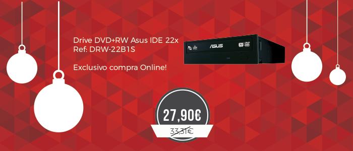 Promoção Drive DVD+RW Asus IDE