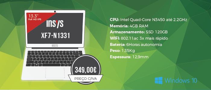 Premium Ultrabook Insys XF7-N1331