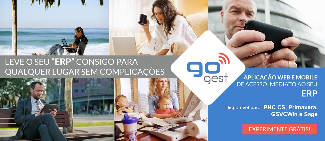 GoGest - Aplicação Web e Mobile