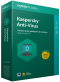 Kaspersky Anti-Virus 5-Desktop 1 year Renewal License Pack