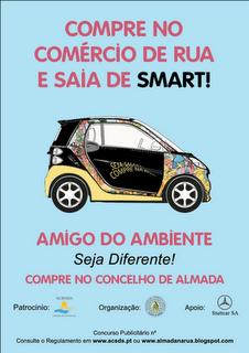 Compre no comércio de rua em Almada e saia de Smart!